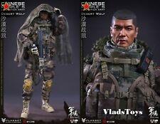 Desert Wolf Chinese People's Liberation Army PLA 1/6 Figure Flagset FS-73025 USA
