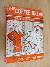 Coffee break more Wall Street Journal Cartoons 1955 First Signed Donald MacDonal
