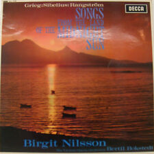 """BIRGIT NILSSON SONGS FROM THE LAND OF THE MIDNIGHT SUN  12"""" LP (h843)"""