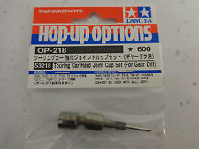 Tamiya 53218 Touring Car Hard Joint Cup Set (For Gear Diff) (TA03/TA04) NIP