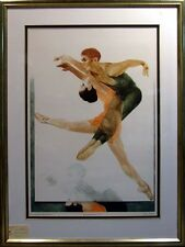 G.H Rothe Ballet Picture I, Original Mezzotint Etching, Signed, Offers Welcome!
