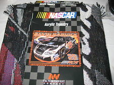 Northwest Company Kevin Harvick  Acrylic Tapestry Throw Blanket 48x60 NWT