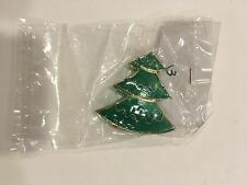 Ornament Christmas Tree small Green and Gold Color