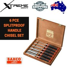 Bahco 6pce Splitproof Handle Chisel Set #434-S6-EUR