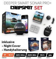 Deeper Smart Sonar PRO+ PLUS WIFI GPS Echolot, Handy Halterung, Night Cover