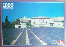 Puzzle 1000 Pezzi Nathan Campo di Lavanda 550447 Champ de Lavande 49x66Cm 1986