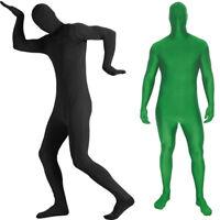 Adult Men Women Morph Cosplay Spandex Body Suit Zentai Second Skin Party