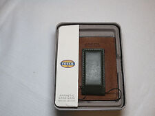 Fossil ML3742B300 Max Mag Card Case green mny clip wallet leather mens credit ID
