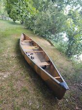 Barely Used Bell Northwoods Canoe