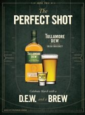 """Tullamore Dew """"perfect Shot"""" Poster 18 By 27"""