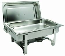 Winco C-2080B Get-A-Grip Chafing Dish 8Qt full size rectangular -Stainless Steel