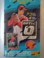 2018 Panini Donruss Optic Baseball Sealed HOBBY 20-Pack BOX Shohei Ohtani