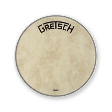 "Gretsch GRDHFS22B 22"" Broadkaster Logo Fiberskyn Bass Drum Head"
