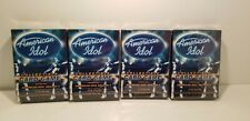 4 BOX LOT of American Idol Season 3 Collectible Trading Card Game by Fleer 2004