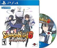 Summon Night 6: Lost Borders (PlayStation 4) Raj Edition Brand New + Soundtrack