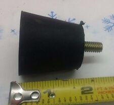 "5/16""-18 Male Threaded Rubber Conical 1 1/2"" Bumper Threaded=3/4"" anti-vibration"