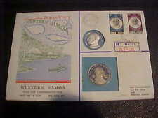 1971 HUTT PNC UNCIRCULATED NO. 36 R NO.12 (12OF120) PAPAL VISIT WESTERN SOMOA