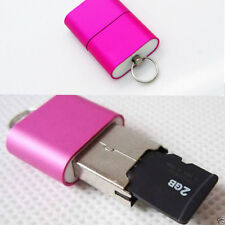 New USB 2.0 TF Nano Micro SD SDHC SDXC Memory Card Reader Writer USB Flash Drive