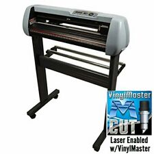 USCutter SC2 Vinyl Cutter Plotter, Stand and Rollers, 28, PC or Mac (Returned)