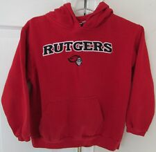 NCAA Rutgers Scarlet Knights Red Youth Hoodie Sweatshirt Youth Large