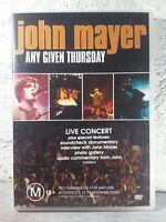John Mayer Music DVD - Any Given Thursday_LIVE CONCERT SHOW