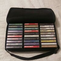 Gospel Music Cassettes Lot Of 30 All in Excellent Condition W/Case