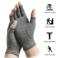 2Pcs Anti Arthritis Gloves Hand Support Pain Relief Arthritis Finger Compression