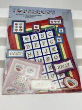 I Heart Rainbows by Dale Burdett Cross Stitch Patterns Booklet 1986 Crafts