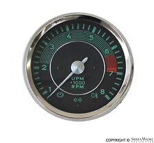 VDO Tachometer (0 to 8000 RPM), Porsche, All Replica Models, 644.741.301.03