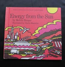 Lets Read & Find Out Science Book ~ Energy from the Sun ~ Melvin Berger ~ 1976