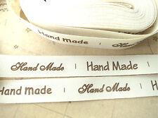 Zakka Coton Tissé étiquette Mixte Ruban de Couture Ruban Tissu Trim Handmade Sangle