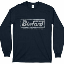 Binford Tools Home Improvement Vintage Look Long Sleeve T-Shirt Crewneck Fleece