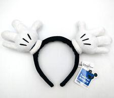 Disney Park Resort Minnie Ears White Bow Mickey Mouse Hand Gifts Cos Headband