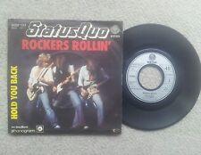 STATUS QUO ROCKERS ROLLIN GERMAN COLLECTORS EDITION 7 INCH VINYL SINGLE 1977