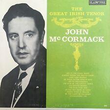 John McCormack - The Great Irish Tenor - Gladwynne - MONO - Vinyl