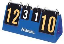 Nittaku Table Tennis Ping Pong Score Board Blue Counter Nt3713 6.3×15.7×8.7inch