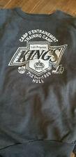 1989-90 LOS ANGELES KINGS PLAYER STAFF EXCLUSIVE HULL TRAINING CAMP SWEATSHIRT