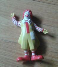 Vintage Ronald McDonald Rubber Figurine. c. 1985.