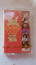 Reader's Digest Music - Great Original Country Hits of the '80s Cassette New