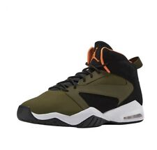 new arrival 0bac2 4aa69 Mens size 10 Jordan Lift Off AR4430 300 Olive Canvas Cone-Black-White