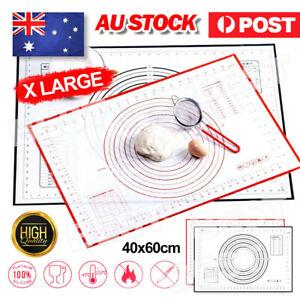 60*40cm Non-Stick Silicone Rolling Baking Pastry Dough Cake Fondant Sheet Mat