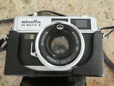 Minolta Hi Matic E Camera Rokkor-QF 40 mm