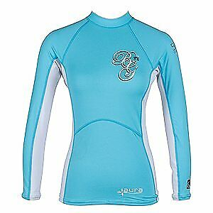 Ladies Body Glove Aura Long Sleeve Rash Vest Guard