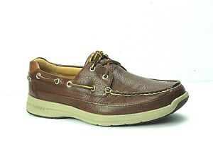 Sperry Top-Sider Men's Gold Cup ASV Ultralite Cognac Casual Boat Shoes Size 10