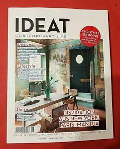 IDEAT Contemporary Life 06 2019/20 Dez./Jan. Inspiration aus New York ungelesen