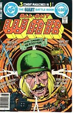All-Out War 6  Giant edition  DC 1980