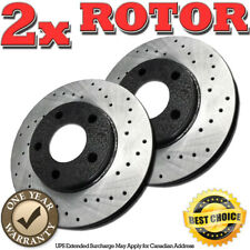 1994 1995 1996 Cadillac Seville OE Replacement Rotors w//Ceramic Pads F