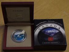 2003 Canada $20 Silver Coin Natural Wonders Rocky Mountains With CAO and Case
