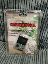 Nintendo Mini Classics Super Mario Bros Handheld Electronic Game Watch Keychain