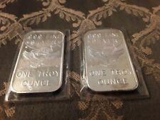 New ListingApm rare 1 oz vintage silver bullion bars (2)